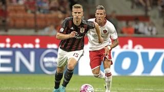 Rodrigo Ely in Milan-Perugia 2-0, TIM Cup