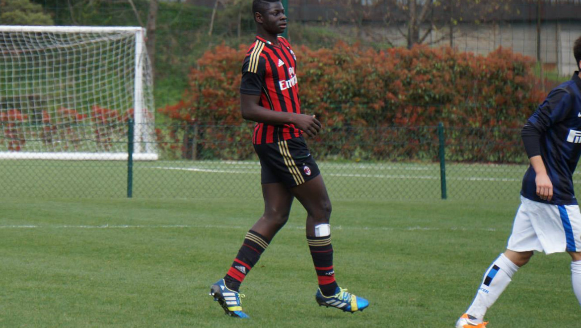 Isaac Akuetteh, Allievi Nazionali Under 17 Milan