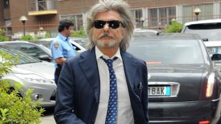 Massimo Ferrero, presidente della Sampdoria