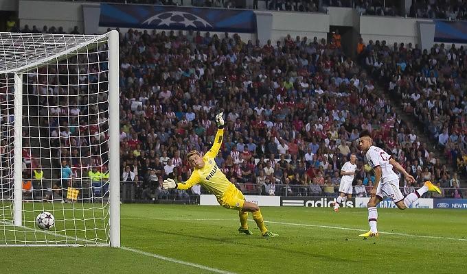 El Shaarawy in PSV-Milan 1-1