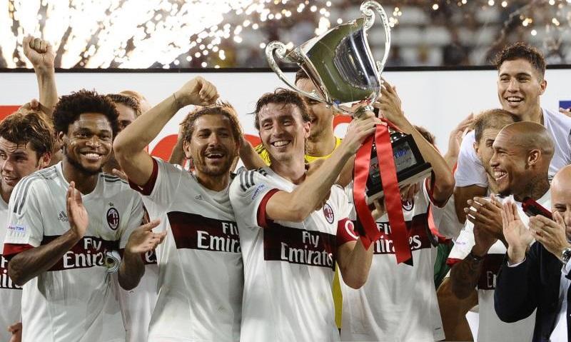 Il Milan vince il Trofeo TIM 2015