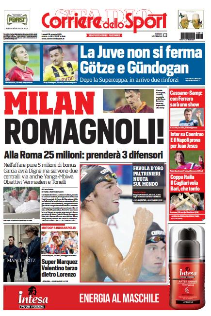 Corriere dello Sport | 10 agosto 2015