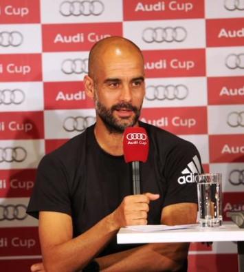 Conferenza Guardiola, Audi Cup
