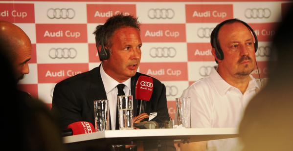 Conferenza Mihajlovic Audi Cup