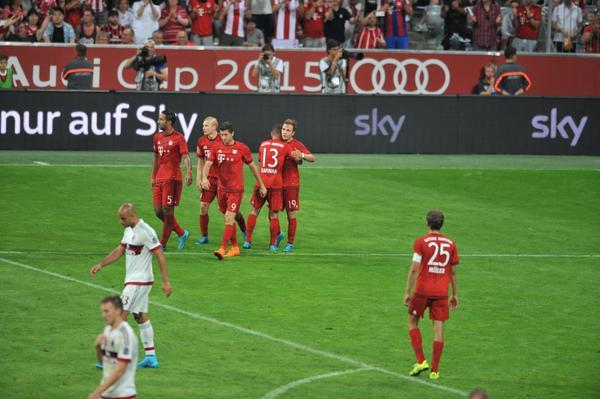 Bayern Monaco-Milan 3-0, Audi Cup