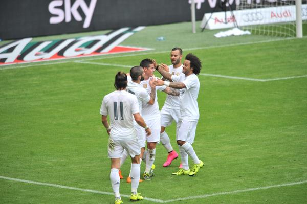 Audi Cup 2015, Real Madrid-Tottenham 2-0