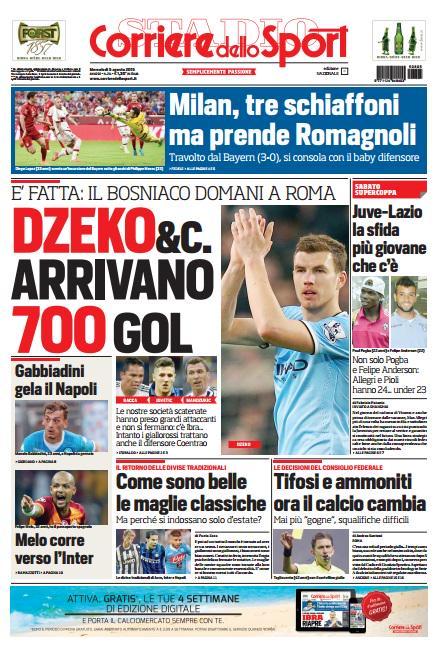 Corriere dello Sport | 5 agosto 2015