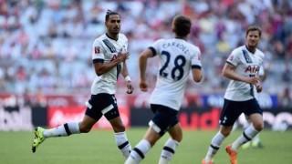 Tottenham-Milan 1-0, fine primo tempo, Audi Cup