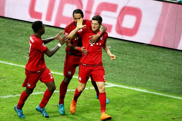 Bayern-Real Madrid 1-0, finale Audi Cup 2015