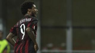 Luiz Adriano in Milan-Perugia, Coppa Italia