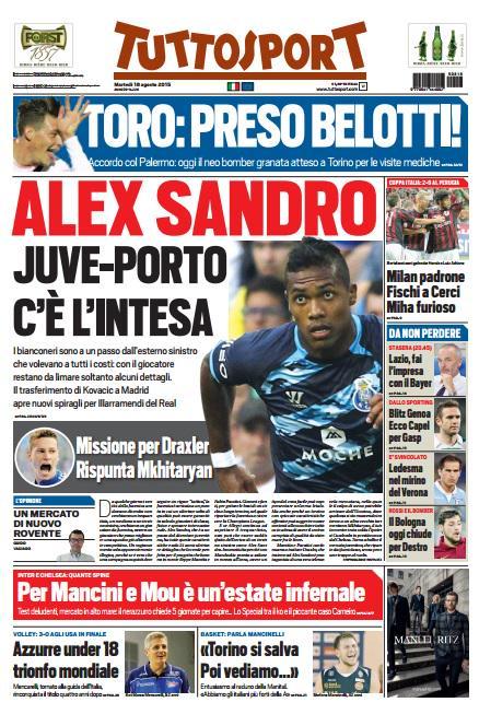 Tuttosport | 18 agosto 2015
