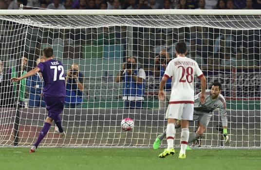 Ilicic in Fiorentina-Milan 2-0
