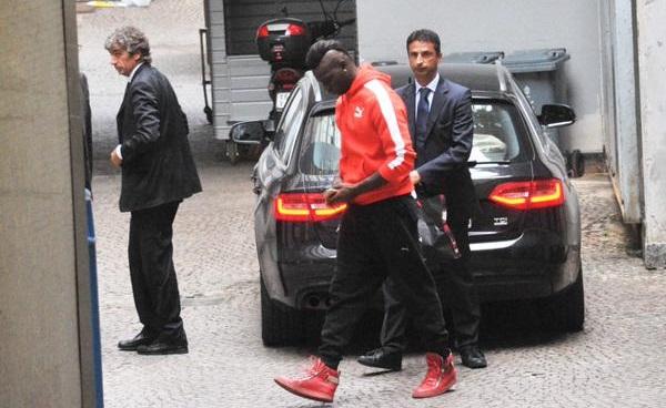 visite mediche, Mario Balotelli