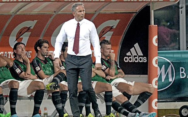 Mihajlovic in Milan-Empoli 2-1