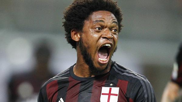 Luiz Adriano in Milan-Empoli 2-1