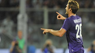 Marcos Alonso in Fiorentina-Milan 2-0