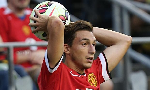 Matteo Darmian, terzino del Manchester United