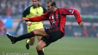 Giuseppe Pancaro con la maglia del Milan