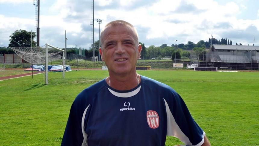 Stefano Carobbi, terzino del Milan di Sacchi, ora allenatore della Colligiana
