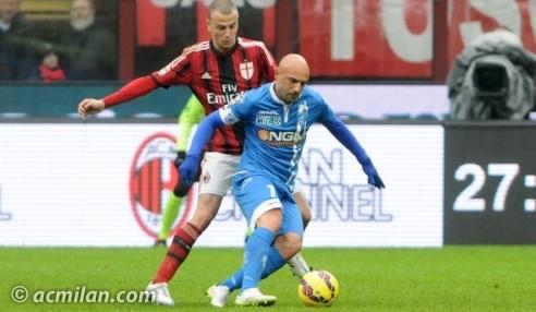 Maccarone sfida Antonelli in Milan-Empoli