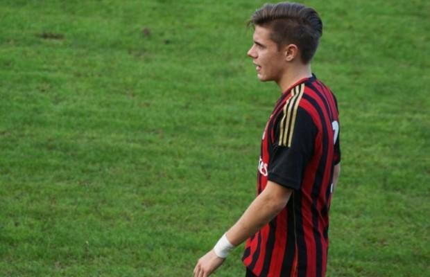 Michael Fabbro, attaccante del Milan