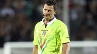 L'arbitro Piero Giacomelli