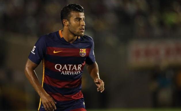 Rafinha, centrocampista del Barcellona