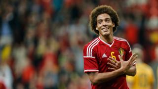 Axel Witsel con la maglia del Belgio