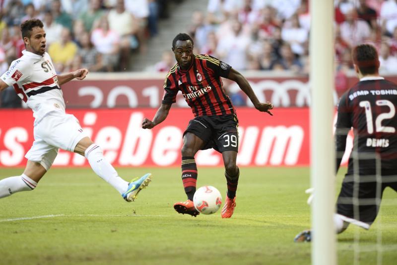 Kingsley Boateng, Milan