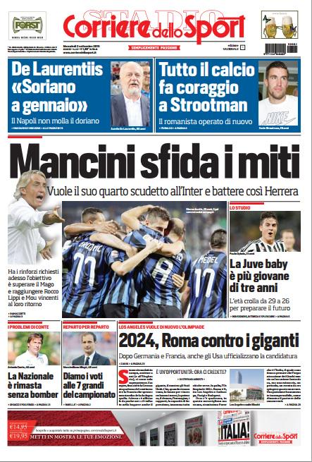 Corriere dello Sport | 2 settembre 2015