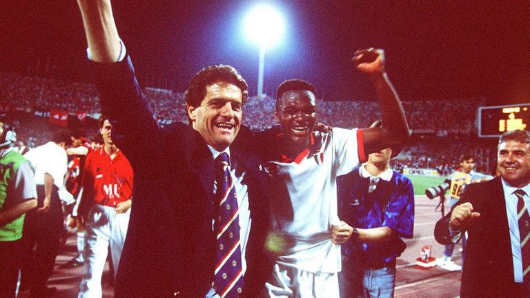 Fabio Capello e Marcel Desailly, Milan