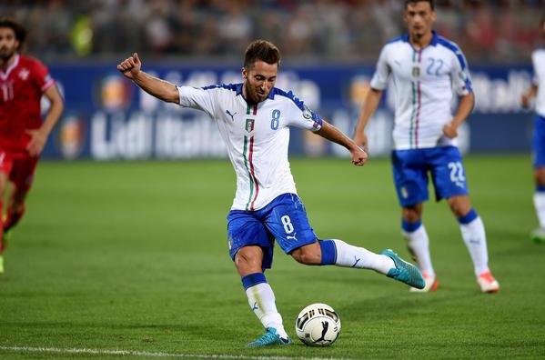 Andrea Bertolacci in Italia-Malta 1-0