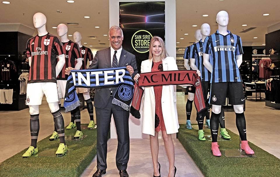 San Siro Store, Barbara Berlusconi e Michael Bolingbroke
