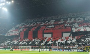 Curva Milan nel derby, San Siro