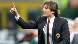 Leonardo sulla panchina del Milan