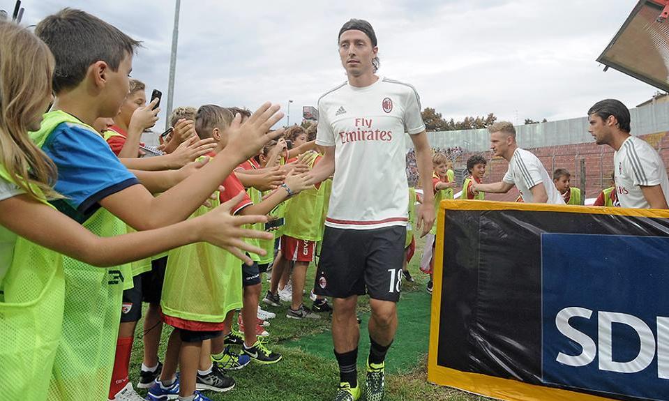 Riccardo Montolivo in Mantova-Milan 2-3