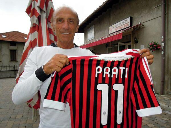 Pierino Prati, ex attaccante del Milan