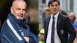 Milan-Inter sarà la sfida decisiva per l'Europa. E per Pioli-Montella