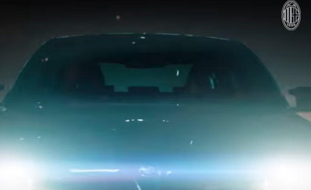 BMW presentazione da sito AC Milan